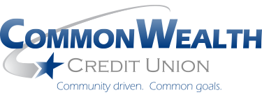 CommonWealth Credit Union. Community driven. Common goals.
