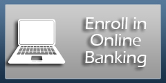 Online banking enroll button